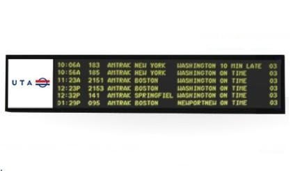 Indoor Full-Color LED Message Signs
