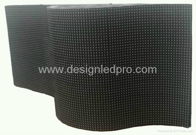 Indoor P10 flexible LED screens 1