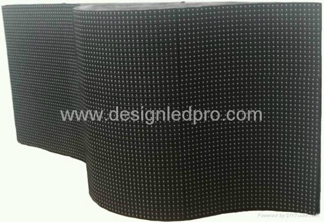 Indoor Flexible LED video display screen 1