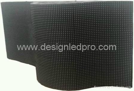 Indoor Flexible LED video display screen 2