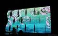 S Shape LED Video ScreenDesignLED