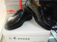 協警單皮鞋