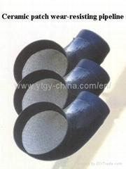 Ceramic lined wear resistant pipe, elbow