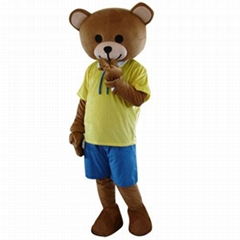 小熊卡通服装