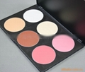 6-color powder blush portfolio Palette