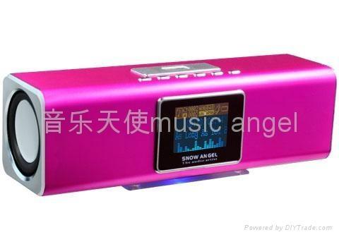 SNOW angel BX-15A mini MP3 speaker 1