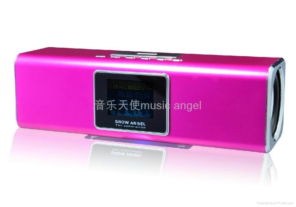 SNOW angel BX-15A mini MP3 speaker 2