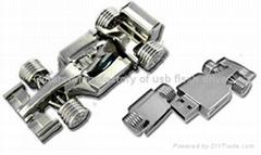 Metal F1 car usb flash drives
