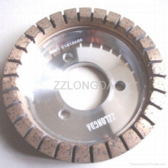 full segmented diamond wheel for straight line double edge