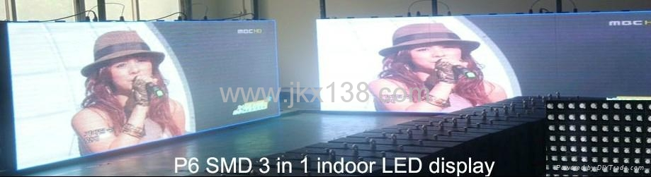 PH6 Indoor Full Color LED Display Screen 1
