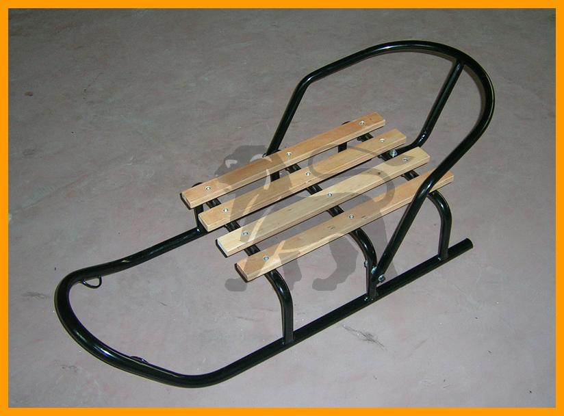 Metal Snow Sled Chair