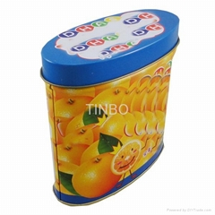children sweet candy tin box