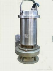 不鏽鋼耐腐蝕排污泵