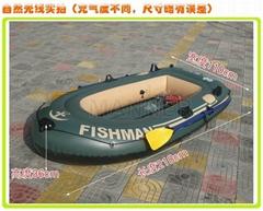 渔人二人钓鱼船