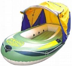 远洋号4人帐篷船