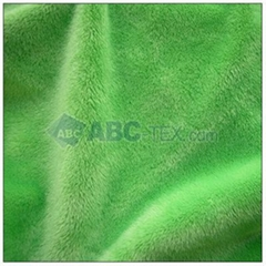 100% polyester solid minky for baby blanket