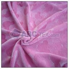 Brushed minky fabric
