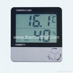 Digital Thermometer& Hygrometer TM801