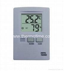 Digital Thermometer& Hygrometer TM805
