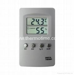 Digital Thermometer& Hygrometer TM807