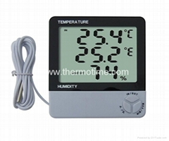 Digital Thermometer& Hygrometer TM810