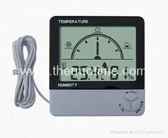 Digital Thermometer& Hygrometer TM801D
