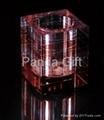 Crystal vase(business handicraft)