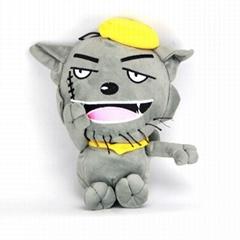 灰太狼毛绒玩具