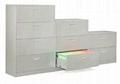 office width drawer flie cabinet