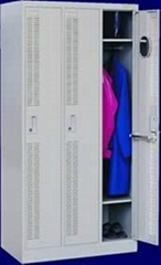 office 3-door locker