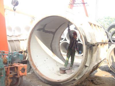 DN2400~3000mm柔型企口式鋼觔混凝土排水管 3