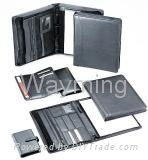 Zipper Leather Size Portfolio