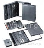 Zipper Leather Size Portfolio