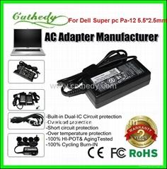 戴爾超級上網本電源適配器19.5v3.34a pa-12