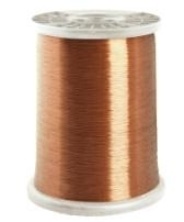 Enameled copper clad aluminum round wire