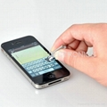 Dust Cap Stylus Touch For Apple iPhone 4S 4G 3G 3GS iPod Touch iPad 1/2 Dust Cup 3