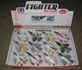 1:130 Die-cast F-16 airplane model