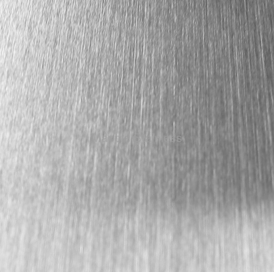 Stainless Steel Hairline Finish Sheets Mapple Stainless