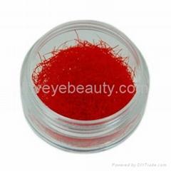 red eyelash