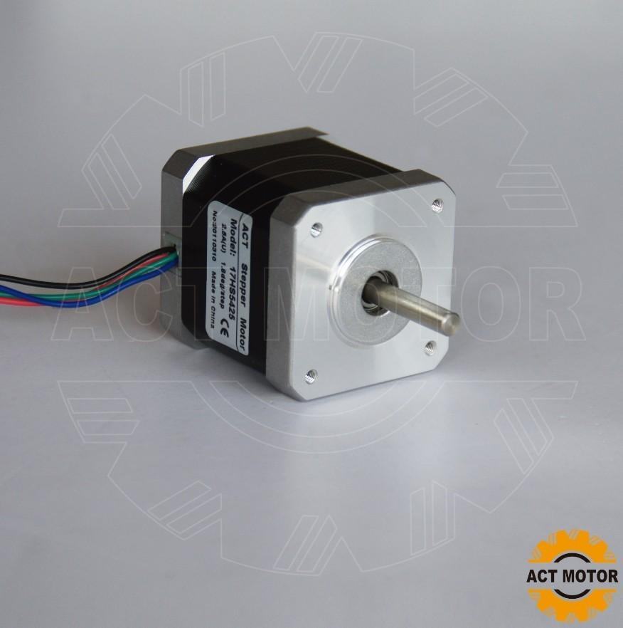 4 Lead Nema 17 Stepper Motor 70oz In 2 5a Product