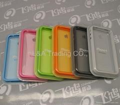 6pcs Hard Frame TPU Bumper Case Cover