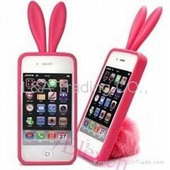 Bunny Rabito Rabbit Rubber Skin Case For