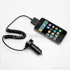 Car Auto Vehicle Charger for iPhone 4 4G 3 3G 3GS New