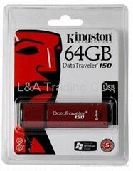 Kingston 64GB DataTraveler 150 USB Flash