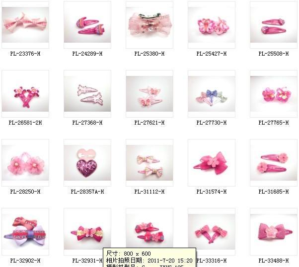 children s hair clip clic hair clip4 miruo hair accessory