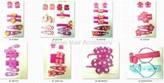 Sets of Children's hair accessories
