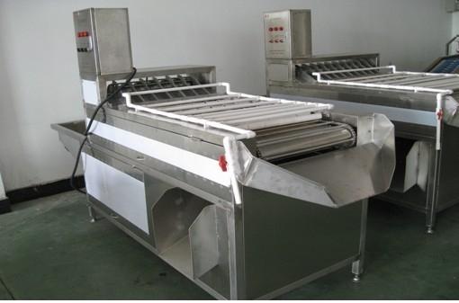 Hen egg peeling machine ( six rows) MT-200 1