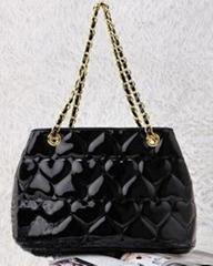 popular handbags patent leather bag