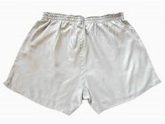 安仪美银纤维防辐射男士平角内裤