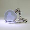 心形水晶内雕钥匙扣 3